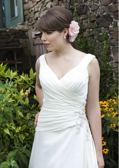 Clodagh S Blog 2012 Strapless Organza Corset Wedding Gown With