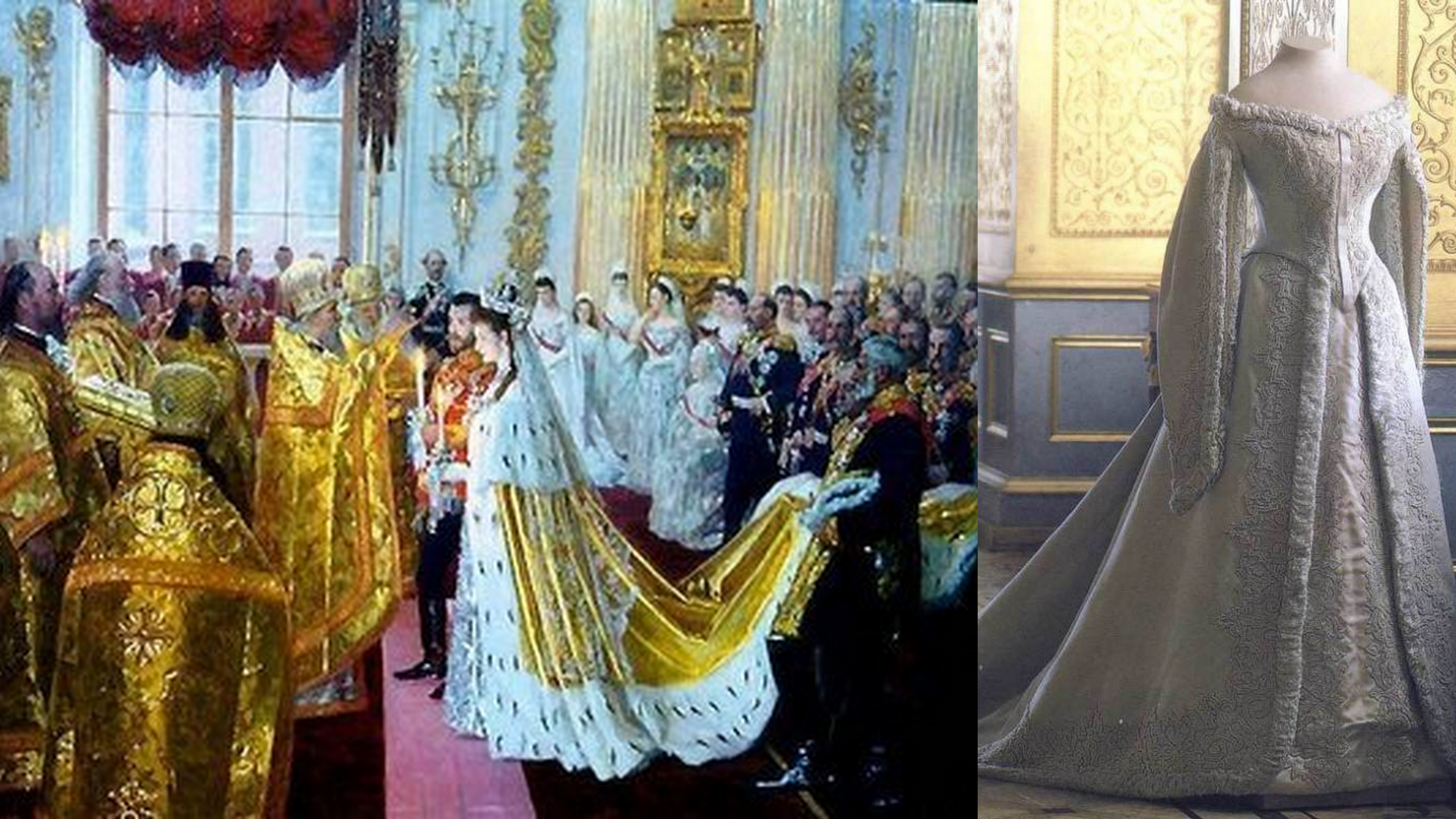 Russian Royal Wedding Dresses : A royal wedding part the world ger
