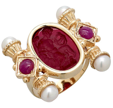 http://www.theshoppingchannel.com/Vicenza-Gold-by-Tagliamonte/Rings/14K-Gold-Venetian-Cameo-Ruby-and-Pearl-Ring/pages/productdetails?nav=R:459968