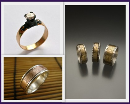 the wedding band some interesting options for men the