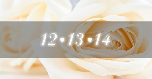 Should you get married on 12/13/14? | The Wedding World Blogger